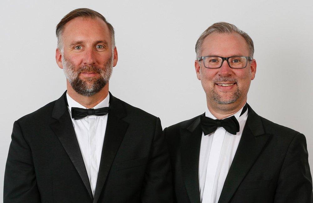Ball der Unternehmer - Andreas und Simon Roeschke